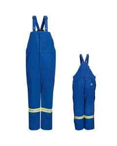 "Bulwark Deluxe Insulated Bib Overall with Reflective Trim - BNNT (3 weeks For Delivery) ""FREE SHIPPING"""