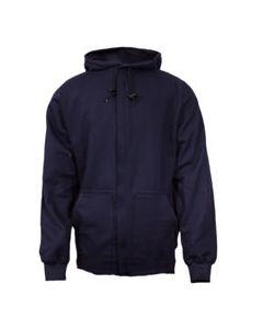 NSA 21 cal UltraSoft® Flame Resistant Zip-Up Sweatshirt - C21WT05