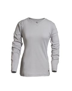 Classic Cotton Women's FR Long Sleeve Shirt - C54PGLSW