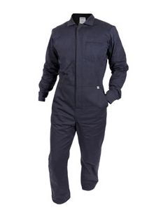 NSA Flame Resistant 8.6 cal Contractor Coverall Zip Front Closure - C88EJCZ