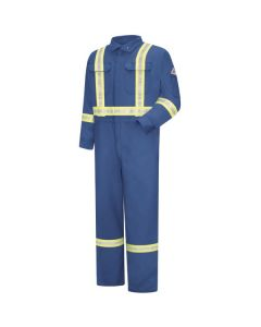Nomex Deluxe Coveralls With Safety Striping