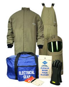 Level 4 ArcGuard® Protera® 40cal Short Coat & Bib Overall - KIT4SCPR40