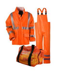 Class 3 Arc H20 Flame Resistant Rainwear Kit - KITRQC3