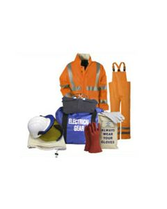 NSA Class 3 Arc HRC 2 19 cal Total Protection Coverall Kit - KITRQCV08C3