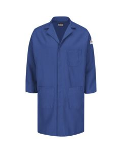 "Bulwark Nomex Concealed Snap Front Lab Coat Style KNL6RB ""FREE SHIPPING"""