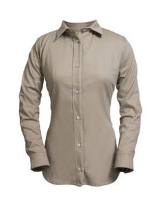 UltraSoft® Women's Flame Resistant Button Down Shirts - SHRUKRGW