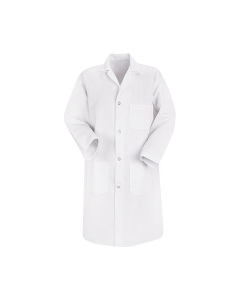 Red Kap Men's 4 Button Lab Coat Style 5700WH