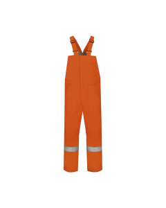 "43 cal Deluxe Insulated Bib Overall with Reflective Trim CAT4 Bulwark EXCEL FR ComforTouch - BLCSOR ""FREE SHIPPING"""
