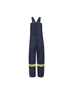 "Bulwark Deluxe Insulated Bib Overall with Reflective Striping - BLCT (3 Weeks For Delivery) ""FREE SHIPPING"""