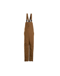 "Bulwark Excel Brown Duck Insulated Bib Overalls Style BLN4BD ""FREE SHIPPING"""