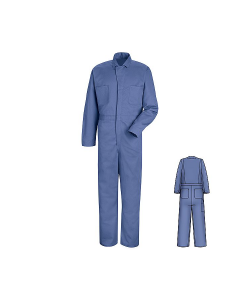 Red Kap Coveralls Cotton Button Front Style CC16