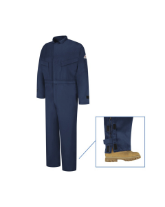 """8.7 cal Deluxe Coverall CAT2 Bulwark EXCEL FR® ComforTouch® - CLZ4 """"FREE SHIPPING"""""""