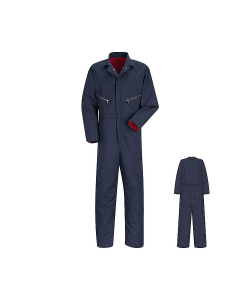 Red Kap Insulated Coveralls Poly/cotton Twill CT30NV