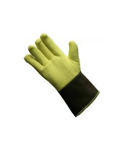 NSA Reversed Kevlar® Terrycloth Glove with Brown Duck Cuff Style G43RTRF01012