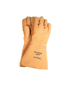 "NSA 14"" 65 cal Level 4 FR Nomex®/Kevlar® Arc Flash Gloves - G51KDQT14"