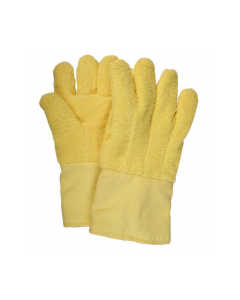 "NSA Jumbo 14"" Straight Thumb Kevlar Terry Glove with Extra Kevlar Felt Patch - G51KTLW14002"