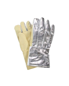 "NSA 14"" Nomex Lined Straight Thumb Thermobest Glove with Aluminized Back - G51TCNL14"