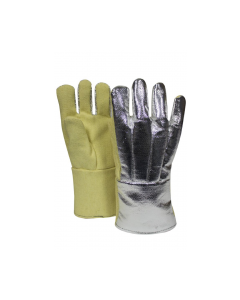 NSA High Heat Thermobest Gloves With Aluminized Thermobest Back Style G51TCVB11614
