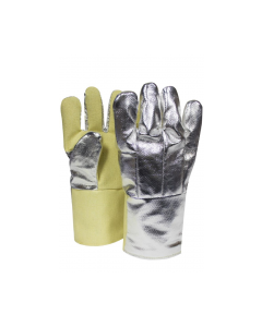 NSA High Heat Thermobest Gloves With Aluminized Carbon Kevlar Back Style G64TCSR0114