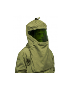 NSA Revolite 40 cal Hood With Faceshield and Internal Fan  H65NPQHFANLT