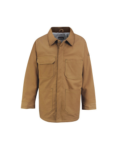 "Bulwark Excel Comfortouch Brown Duck Lineman's Coat - JLC4 ""FREE SHIPPING"""