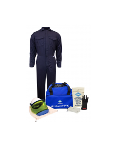 Arc Flash Kits NSA Level 2 Coverall With Gloves Item KIT2CV08