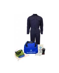 NSA UltraSoft® Arc Flash Kit with 12cal/cm² Coverall - KIT2CV11