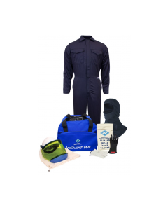NSA HRC 2 UltraSoft® Arc Flash Kit with 12cal/cm² Coverall with Hood - KIT2CV11B