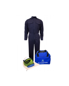 NSA UltraSoft® Arc Flash Kit with 12cal/cm² Coverall No Gloves - KIT2CV11NG