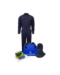 NSA HRC 2 UltraSoft® Arc Flash Kit with 12cal/cm² Coverall with Hood No Gloves - KIT2CV11NGB