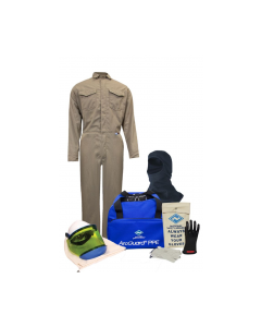 NSA Level 2 Protera® Coverall Arc Flash Kit with Hood - KIT2CVPR08B