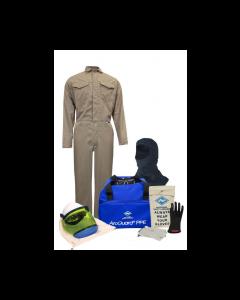 NSA Level 2 Protera® Coverall Arc Flash Kit with Hood - KIT2CVPR08B