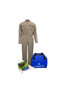 NSA Level 2 Protera® Coverall Arc Flash Kit No Gloves - KIT2CVPR08NG