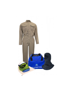 NSA Level 2 Protera® Coverall Arc Flash Kit with Hood No Gloves - KIT2CVPR08NGB