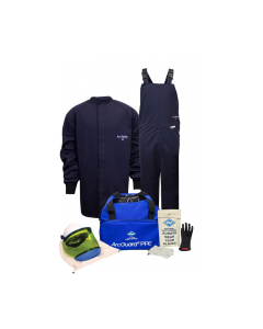 NSA ArcGuard® Level 2 Arc Flash Kit 12 cal Short Coat & Bib Overalls - KIT2SC11