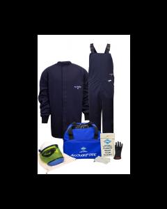NSA ArcGuard® Level 2 Arc Flash Kit 12 cal Short Coat & Bib Overalls - KIT2SC11