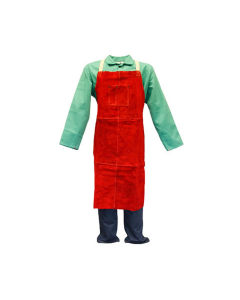 Stanco Leather Bib Apron  L236B