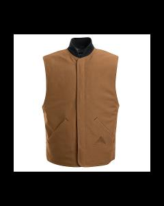 Bulwark Excel Brown Duck Vest Jacket Liner Style LLS2BD