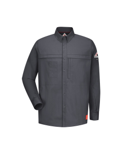 6.3 cal Long Sleeve Concealed Pocketed Shirts CAT1 Bulwark IQ Series - QS20