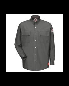 6.3 cal Long Sleeve Patch Pocketed Shirts CAT1 Bulwark IQ Series  QS30