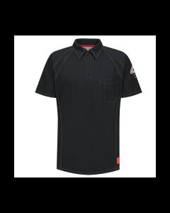 8.2 cal Short Sleeve Polo Shirts CAT2 Bulwark IQ Series  QT10