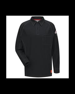 8.2 cal Long Sleeve Polo Shirts CAT2 Bulwark IQ Series  QT12