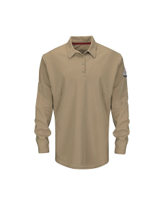 Women's Long Sleeve Polo with 4-Button Placket iQ Series® - QT15