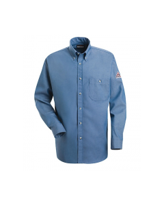 Bulwark Excel Button Front Denim Dress Uniform Shirts Style SEG2LD
