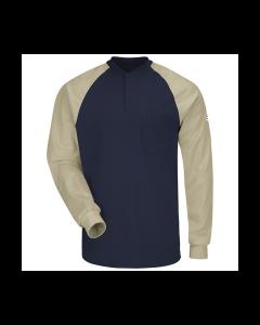 Bulwark Excel FR Long Sleeve Henley T-shirt SEL4
