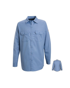 Bulwark Excel Button Front Work Shirts Style SEW2