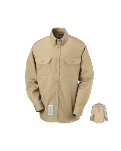 Bulwark Excel Comfortouch 7.0 oz Dress Uniform Work Shirts Style SLU2