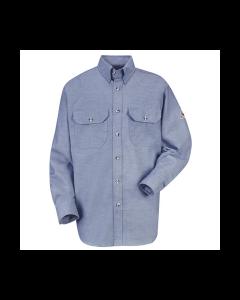 Bulwark Excel Comfortouch 6.0 oz Dress Uniform Work Shirts Style SLU6