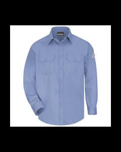 Bulwark Men's 6 oz. FR Uniform Shirt - SLU8