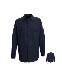 Bulwark Excel Comfortouch Button Front Work Shirts Style SLW2